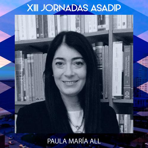PAULA MARÍA ALL